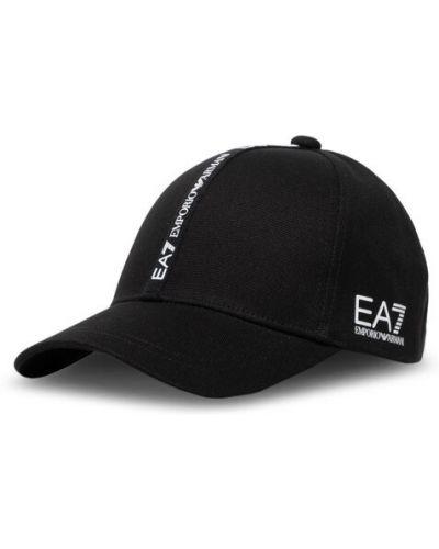 Czapka - czarna Ea7 Emporio Armani