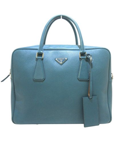 Teczka - niebieska Prada Vintage