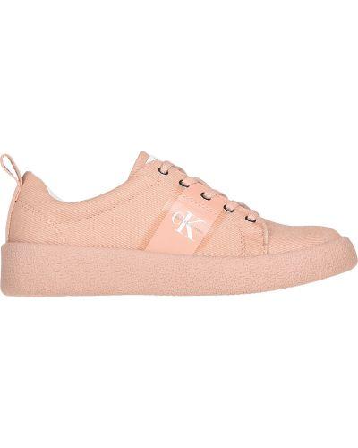 Розовые кроссовки Calvin Klein Jeans