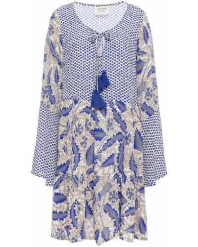 Пляжное платье мини - синее Cecilie Copenhagen