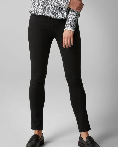 Облегающие классические черные брюки Marc O' Polo
