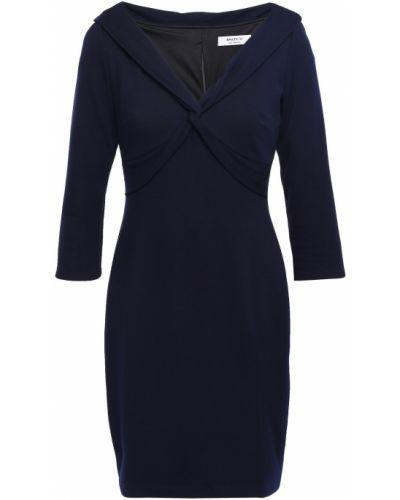 Niebieska sukienka mini z nylonu Bailey 44