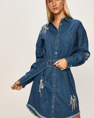 Джинсовое платье оверсайз мини Guess Jeans