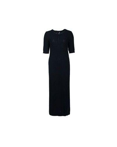 Платье черное Peserico