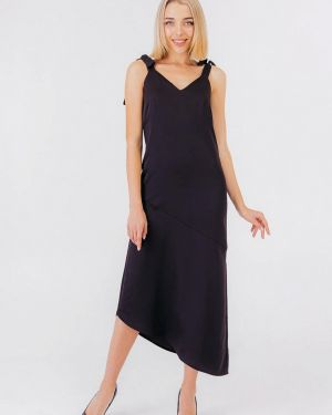 Вечернее платье осеннее черное Bessa