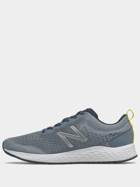 Серые кроссовки беговые для бега сетчатые New Balance