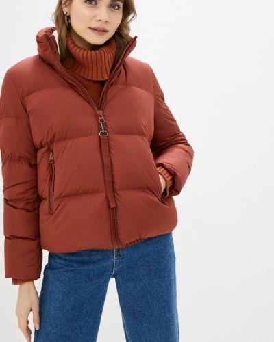 Утепленная коричневая куртка Marc O'polo