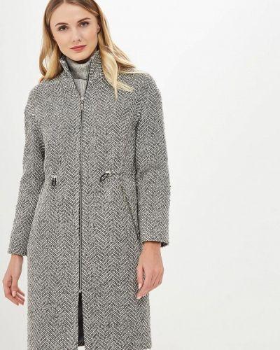 Пальто демисезонное серое Doroteya
