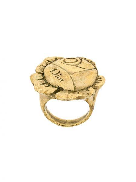Кольцо винтажное Christian Dior Pre-owned