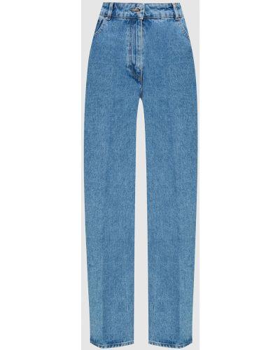 Синие джинсы Nina Ricci
