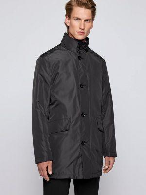 Черная демисезонная куртка Boss
