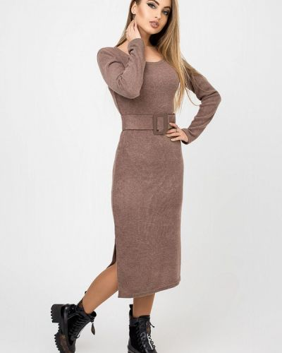 Платье - коричневое Leo Pride