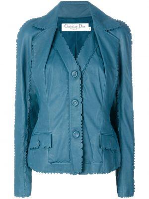 Синяя куртка на пуговицах Christian Dior Pre-owned