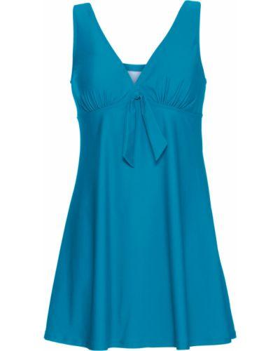 Платье купальное зеленый Bonprix