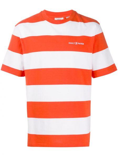Koszula krótkie z krótkim rękawem prosto w paski Daily Paper