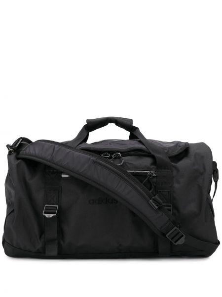 Bawełna z paskiem czarny plecak na paskach Adidas