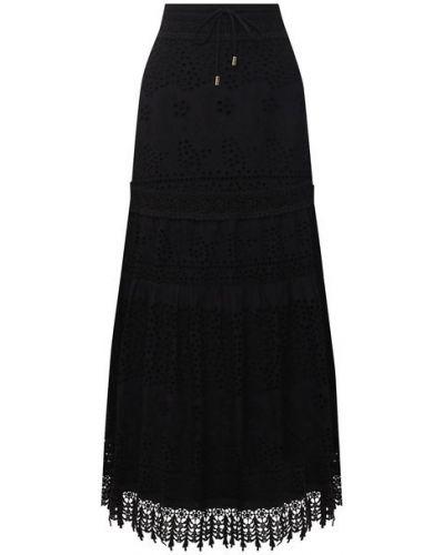 Хлопковая юбка с подкладкой Melissa Odabash