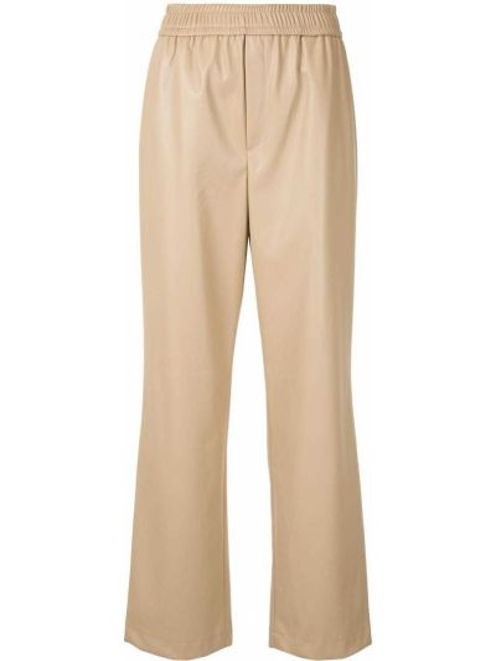 Прямые брюки с поясом с высокой посадкой Goen.j