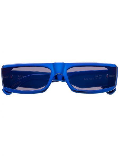 Солнцезащитные очки с логотипом - синие Retrosuperfuture