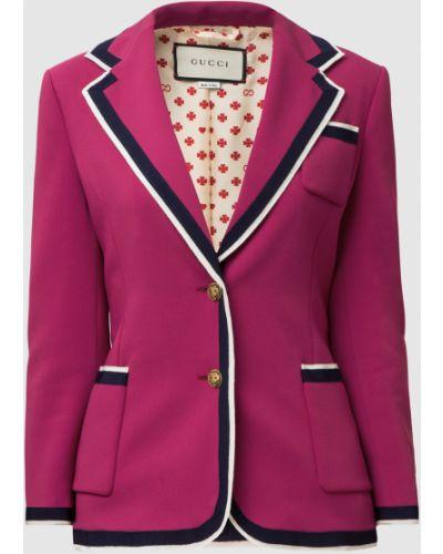 Малиновый пиджак Gucci