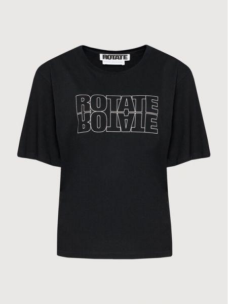 Czarna t-shirt Rotate