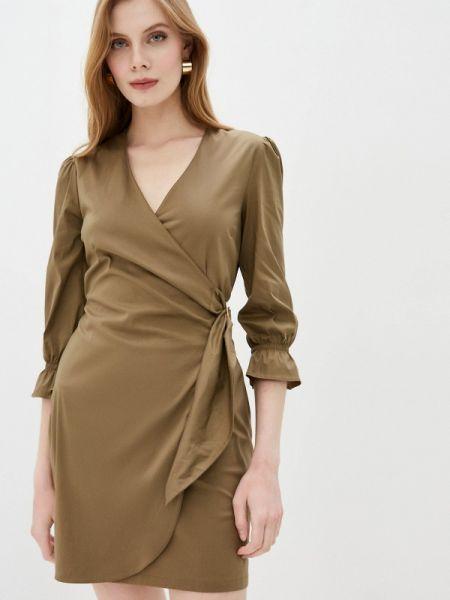 Платье с запахом весеннее Patrizia Pepe