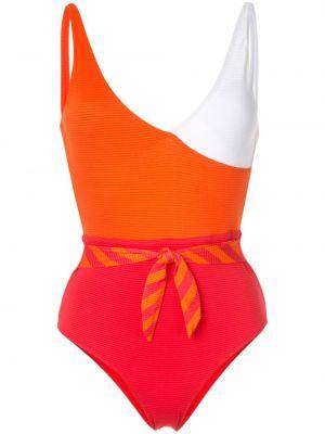 Плюшевый оранжевый слитный купальник Duskii