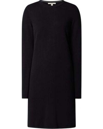 Czarna sukienka z wiskozy Edc By Esprit