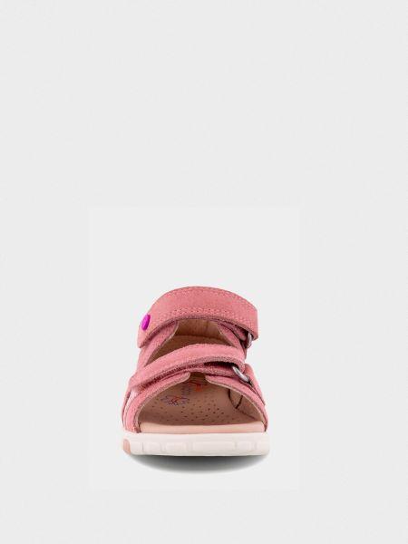 Прямые розовые сандалии Ecco