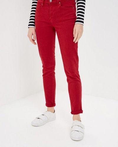 Красные брюки повседневные Gap