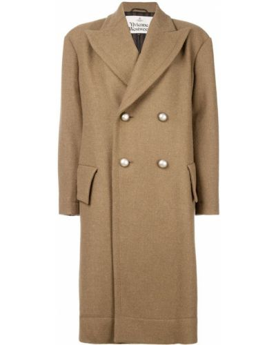Двубортное пальто расклешенное Vivienne Westwood