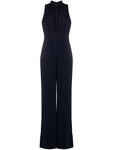 Комбинезон ажурный темно-синий Lauren Ralph Lauren