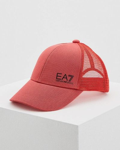 Красная кепка Ea7