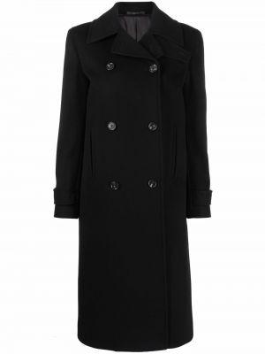 Шерстяное пальто - черное Paul Smith