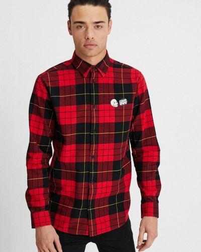 Рубашка в шотландскую клетку красный Cheap Monday