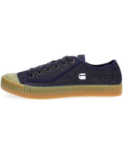 Niebieskie sneakersy G-star
