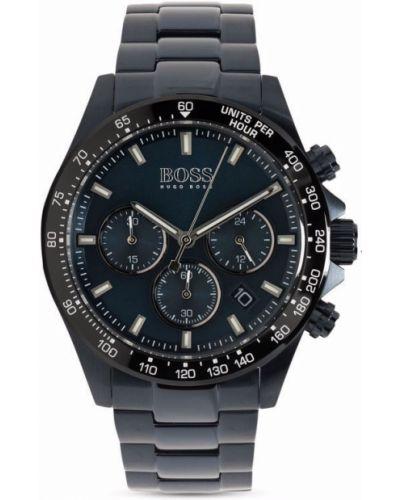 Часы на кнопках - синие Boss Hugo Boss