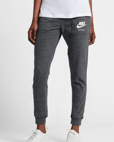 Брюки на резинке прямые из полиэстера Nike