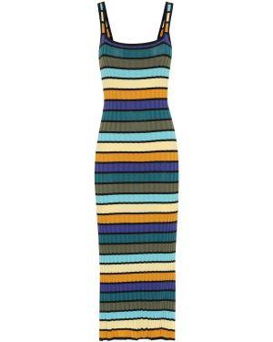 Платье макси в полоску купальное Solid & Striped
