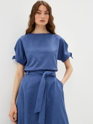 Блузка - синяя Shovsvaro