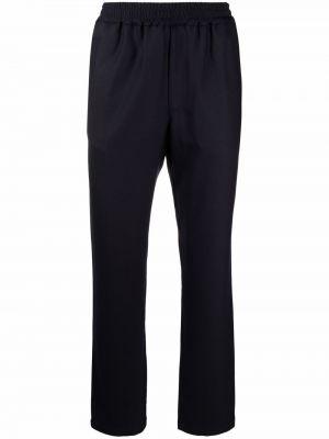 Niebieskie spodnie wełniane Barena