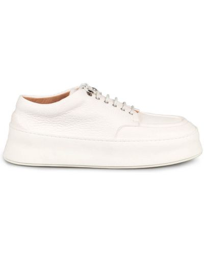 Białe sneakersy Marsell