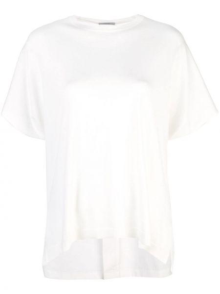 Biały t-shirt bawełniany Dusan