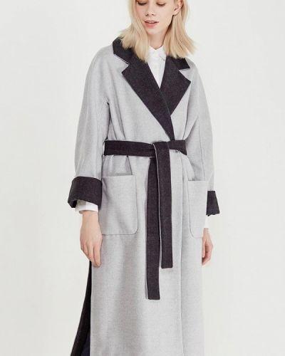 Серое пальто Grand Style