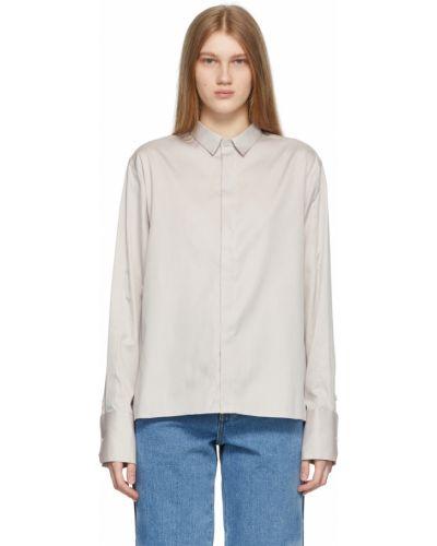 Koszula oxford bawełniana z długimi rękawami z haftem Ader Error