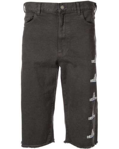 Коричневые шорты с карманами Johnundercover