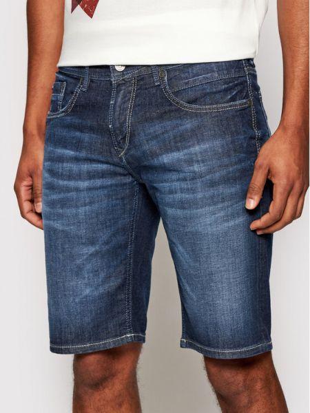 Szorty jeansowe - granatowe Baldessarini