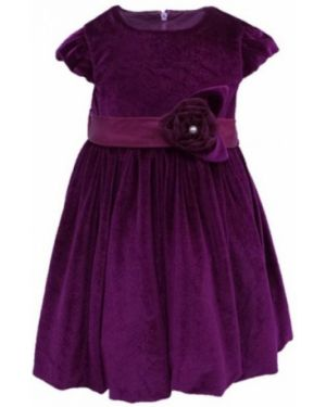 Платье бархатное с сеткой Lp Collection