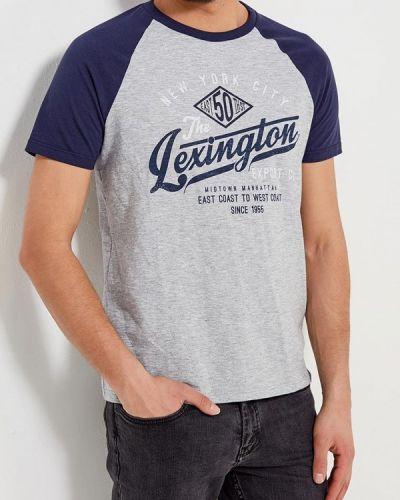 Синяя футболка Burton Menswear London