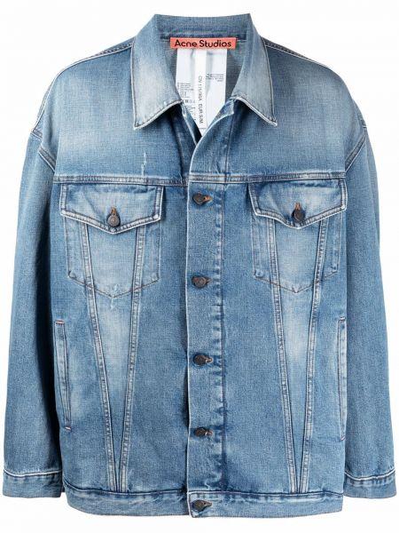 Klasyczne jeansy - niebieskie Acne Studios